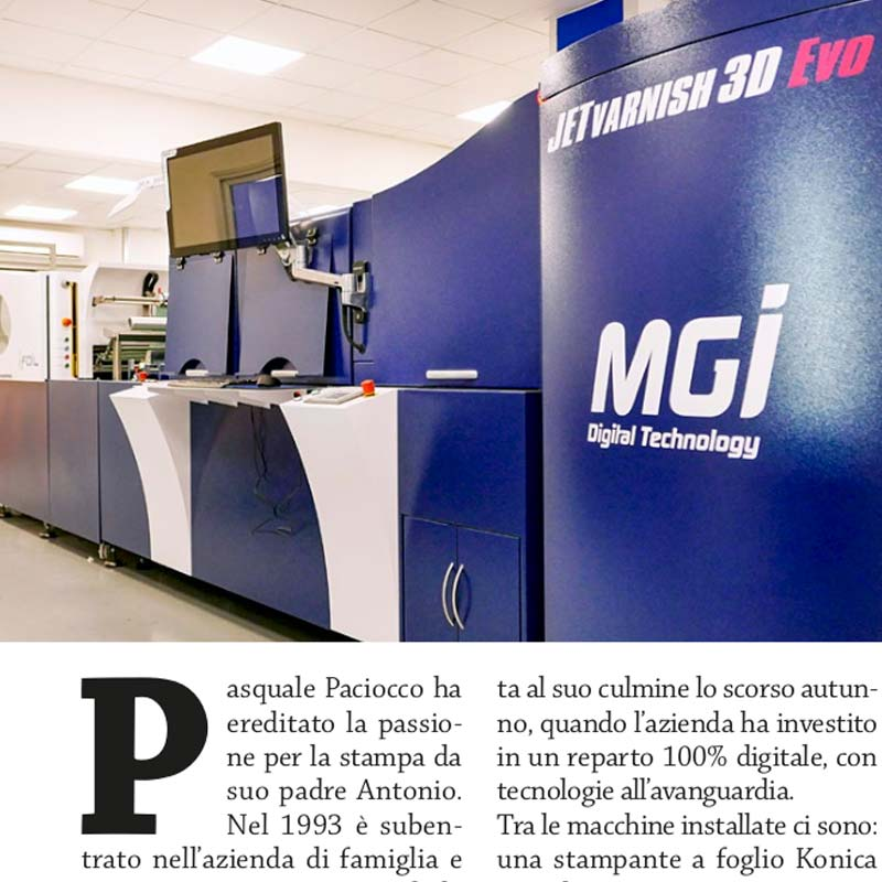 rassegna stampa nobilitazione mgi jetvarnish 3d